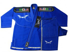 BJJ Diamond Weave Blue Gi