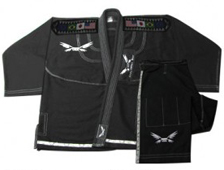 BJJ Diamond Weave Black Gi