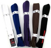 Fuji BJJ Belts for Adults