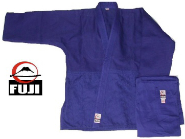 Fuji Single Weave Blue Judo Gi