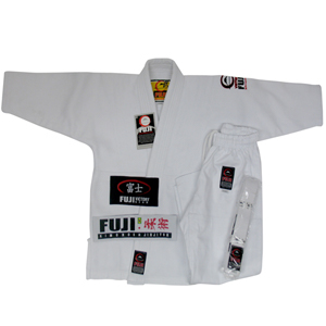 Fuji BJJ Kids White Gi