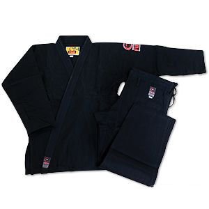 Fuji Brazilian Jiu-jitsu Single Weave Black Gi