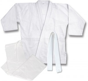 Judo White Single Weave Gi