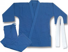 Judo Blue Single Weave Gi