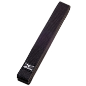 Mizuno�s new silver label black belt