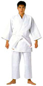 Mizuno Single White Judo Gi